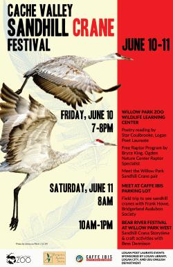 Crane Cache Valley Sandhill Crane Festival June 10-11, 2016
