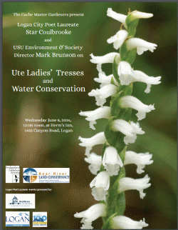 Ute Ladies' Tresses and Water Conservation