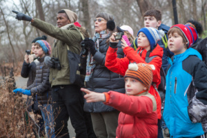 Christmas Bird Count Join the Christmas Bird Count You can add to a century of citizen science data by signing up for a count near you Photo: Camilla Cerea/Audubon audubon-camilla_cerea_cbc_5