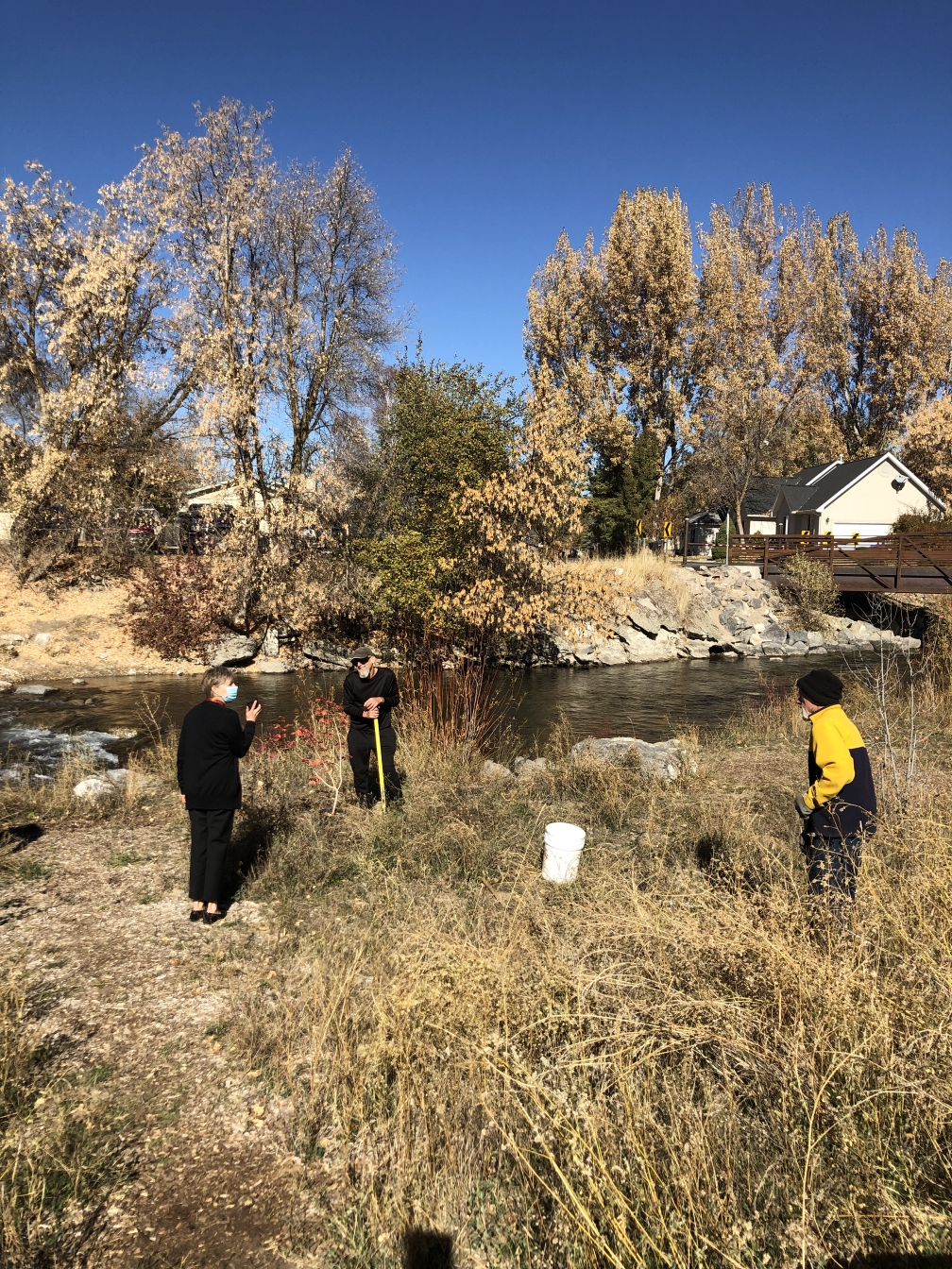 Click to Visit: Mayor Daines at the Denzil Stewart Nature Park Tree Planting Oct 30, 2020