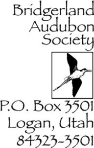 Bridgerland Audubon Society Logo (for Letterhead) Copyright © Bridgerland Audubon Society
