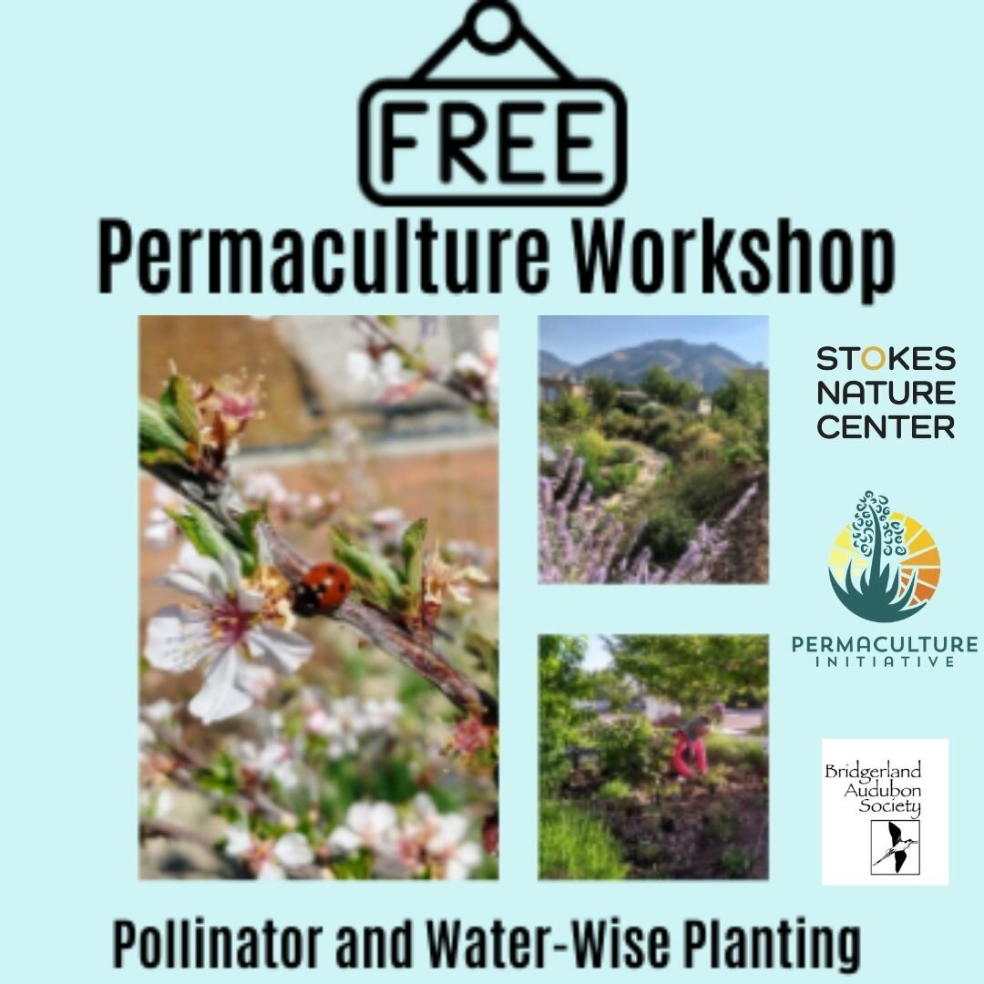 Come learn about pollinator and water-wise planting with USU Permaculture. When: June 19th 10am-12pm  Where: 1240 E 800 N, Logan, UT 84321 (Behind Aggie Ice Cream)Parking available on the street south of the garden. Register at https://logannature.dm.networkforgood.com/forms/permaculture-workshop