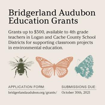 Bridgerland Audubon Education Grants